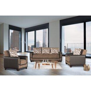 Aldajuste 3 Piece Living Room Set by Ebern Designs