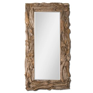Bayou Breeze Ivey Teak Root Wall Mirror