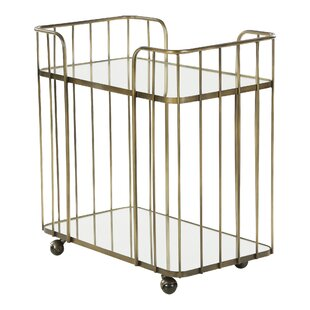 Tiana Drinks Trolley Serving Cart By Canora Grey