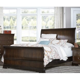 Charlton Home Hebden Sleigh Bed
