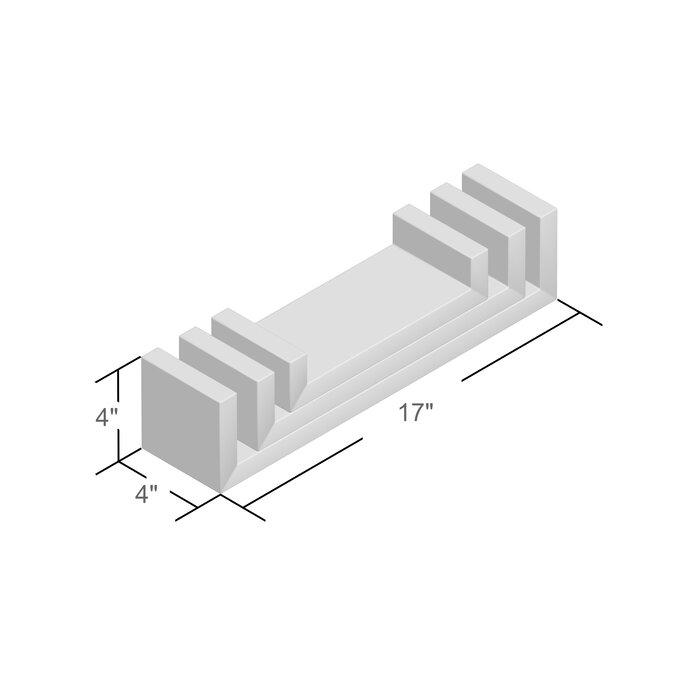 san francisco 69825 94734 Wickes 3 Piece Floating Shelf Set