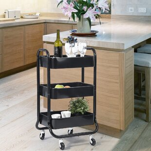 Merced Bar Cart by Rebrilliant
