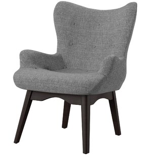 Shuman Wingback Chair by Mercury Row