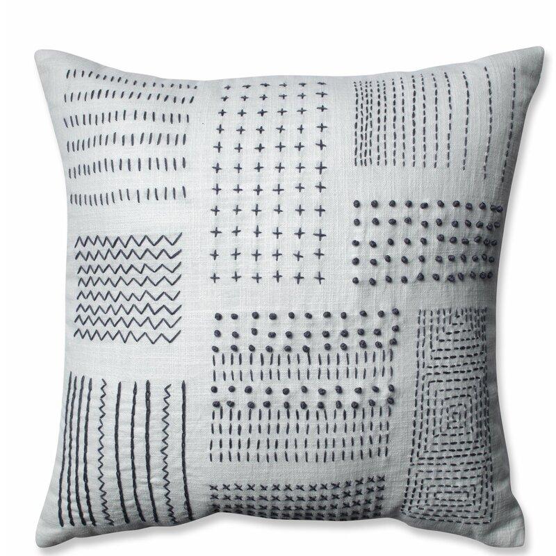 Pillow Perfect Tribal Cotton Throw Pillow Reviews Wayfair