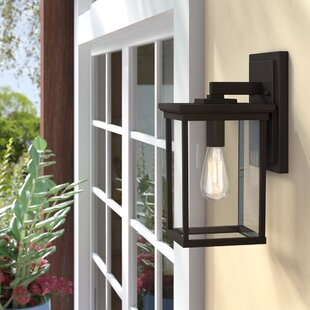 Mccombs 1-Light Outdoor Wall Lantern by Three Posts