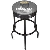 Guinness Line Art Pint Ribbed 29 Swivel Bar Stool by Trademark Global