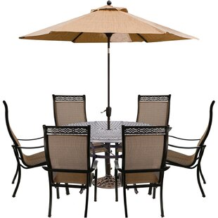 Buariki 8 Piece Dining Set