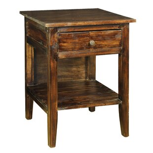 Isadora 1 Drawer Nightstand by Loon Peak