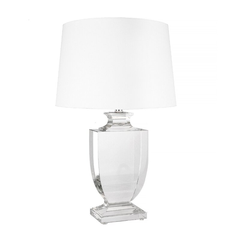 "Mcmillin Crystal 26"" Table Lamp"