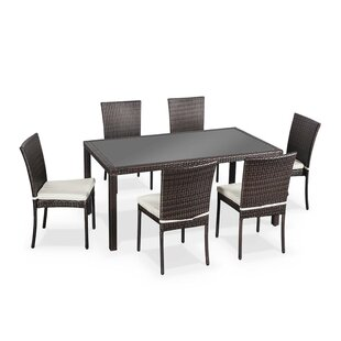 Oliver 6 Seater Dining Set With Cushions Image