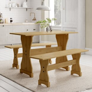 Dodge Dining Set With 2 Benches By Union Rustic