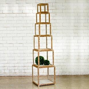 Alcide Piece Risers Cube Unit Bookcase by Gracie Oaks