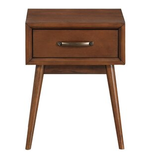 Read Reviews Ripton Mid-Century Modern End Table By George Oliver