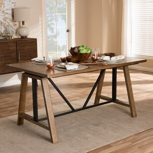 Compare & Buy Ailith Metal and Distressed Wood Standing Desk ByFoundry Select