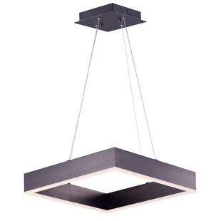 Acamar 1-Light Aluminum Square..
