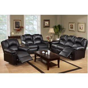 Gail Reclining 3 Piece Living Room Set by A&J Homes Studio