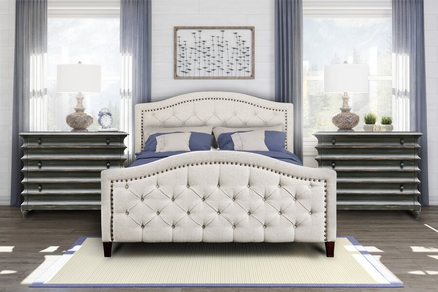 Pulaski Prieto Bed King  Item# 10871
