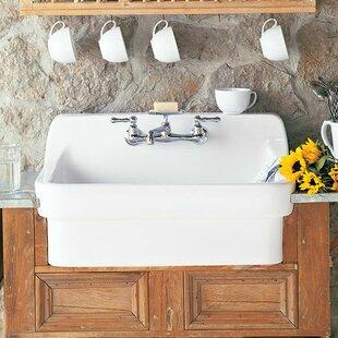 Lovely Farmhouse Sink With Backsplash | Wayfair