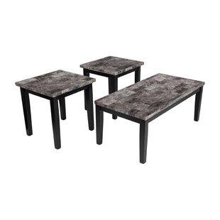 Fleur De Lis Living Starkey 3 Piece Coffee Table Set (Set of 3)