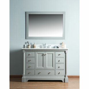 Compare & Buy Rayleigh 48 Single Bathroom Vanity Set with Mirror By Charlton Home