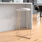 Emanuela Carratoni Sweet Terrazzo Bar & Counter Stool by East Urban Home