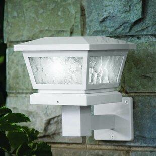 Fairmont 1 Light LED Fence Post Cap by Classy Caps