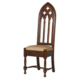 Viollet-Le-Duc Gothic Cathedral Side Chair by Design Toscano