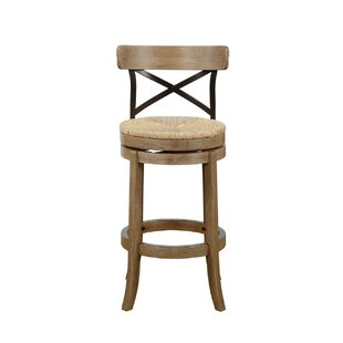 Jacklyn Bar & Counter Swivel Stool by August Grove