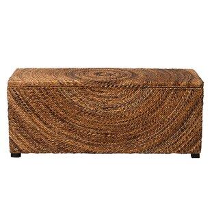Review Wilmer Wicker Storage Bench