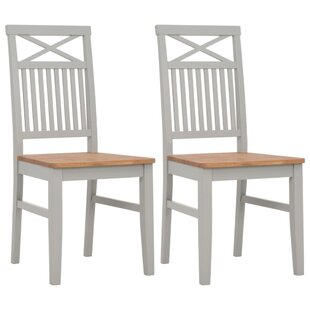 Kindred Solid Wood Dining Chair (Set Of 2) By August Grove