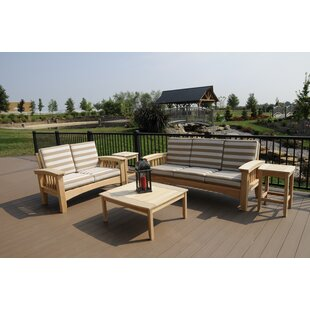 Farmhouse Rustic Outdoor Sofa Sets Birch Lane