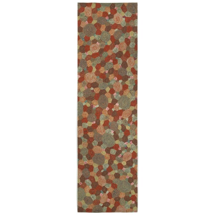 World Menagerie Lybarger Giant Swirls Geometric Multi Colored