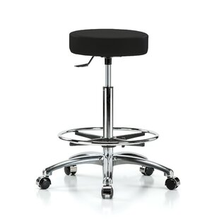 Height Adjustable Swivel Stool with Foot Ring