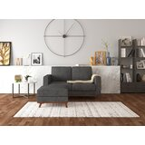 Calin 55.25'' Reversible Sectional with Ottoman by Corrigan Studio®