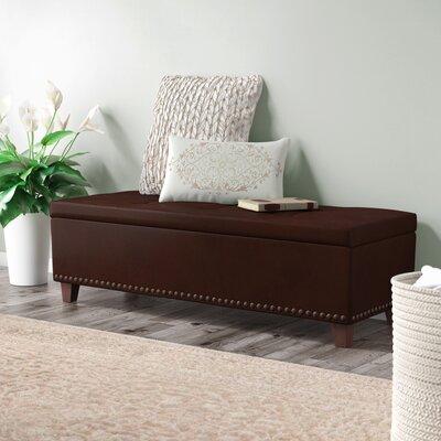 Superb Charlton Home Lemire Leather Storage Bench Theyellowbook Wood Chair Design Ideas Theyellowbookinfo