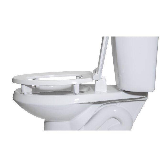 Pleasant Raised Plastic Elongated Toilet Seat Machost Co Dining Chair Design Ideas Machostcouk