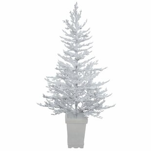 flocked winter twig 5 white twig artificial christmas tree