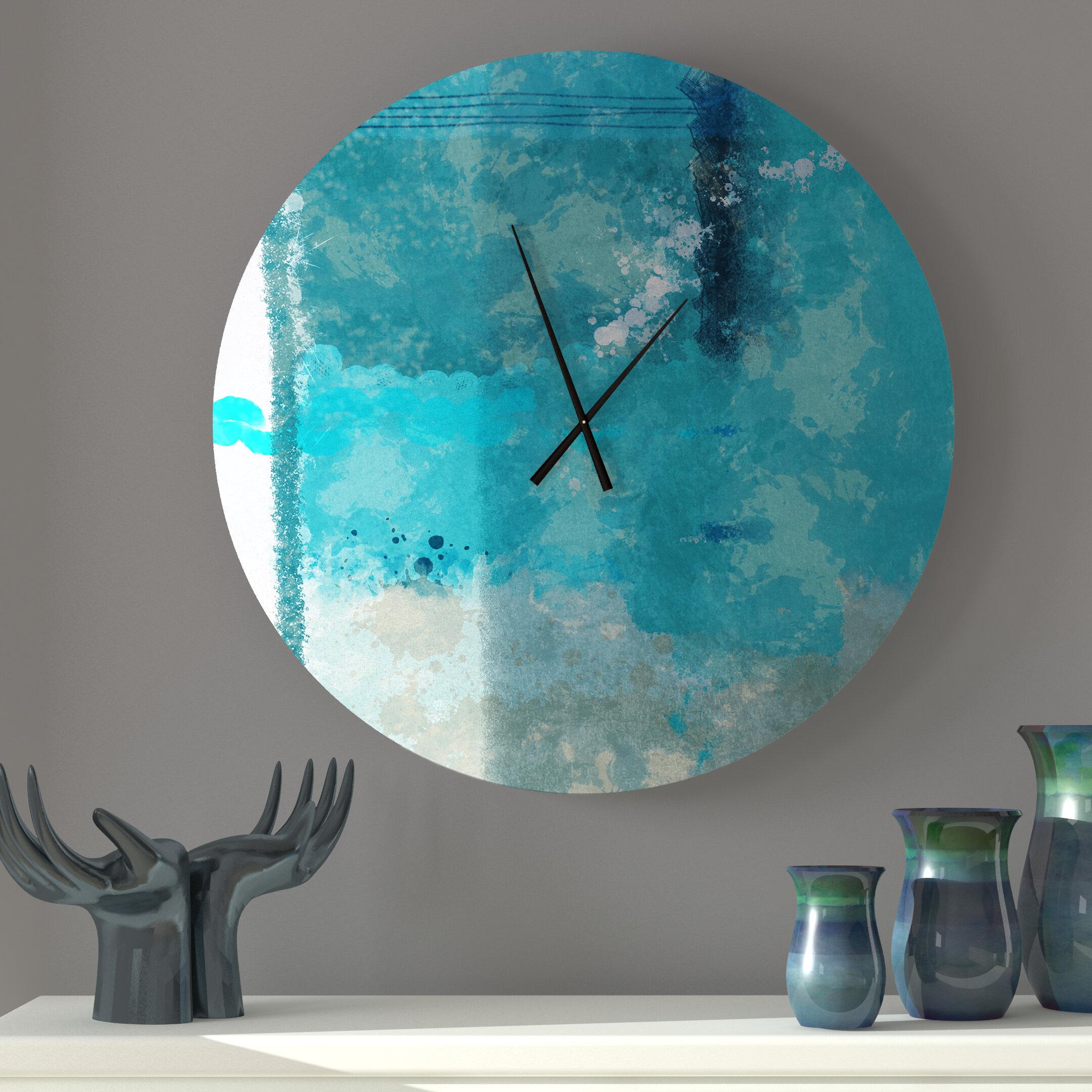 Latitude Run Notus Wall Clock Wayfair