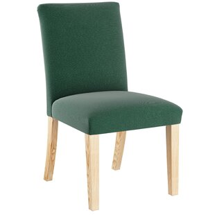 Cybart Upholstered Dining Chair Loon Peak