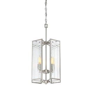 Wrought Studio Belvidera 4-Light Square/Rectangle Pendant