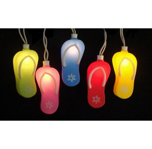 Sienna Lighting 10-Light Flip Flop String Lights