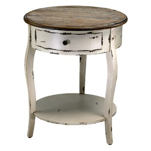 Abelard End Table with Storage by Cyan De..