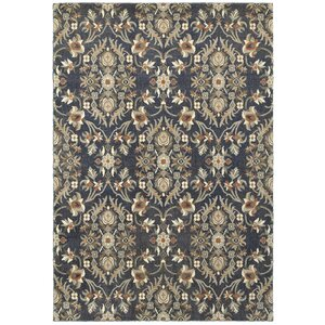 Sacha Black/Brown Area Rug