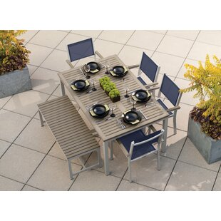 Farmington 6 Piece Outdoor Dining Set By Latitude Run