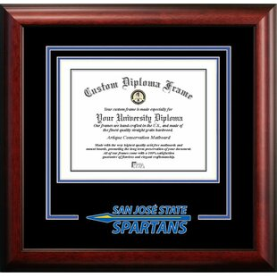 NCAA San Jose State Spartans Spirit Diploma Frame By Campus Images