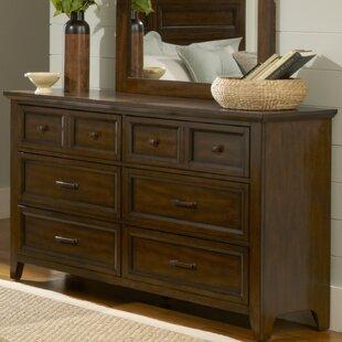 August Grove Mortemart 6 Drawer Double Dresser