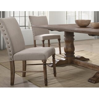 Aniya Upholstered Dining Chair (Set of 2) by Ophelia & Co. SKU:BB678601 Reviews