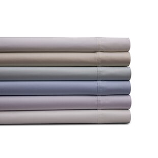 Merrionette Organic Sateen 350 Thread Count 100% Cotton Sheet Set (Set of 4) By Alcott Hill