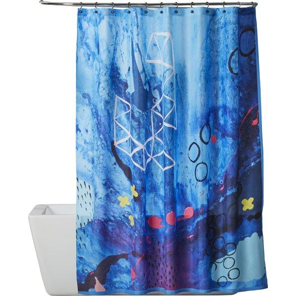 Brayden Studio Deb Mcnaughton Xo Single Shower Curtain Wayfair