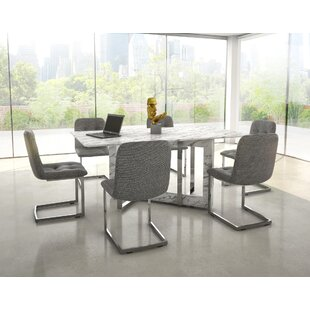 Brayden Studio Bruck Contemporary 7 Piece Dining Set
